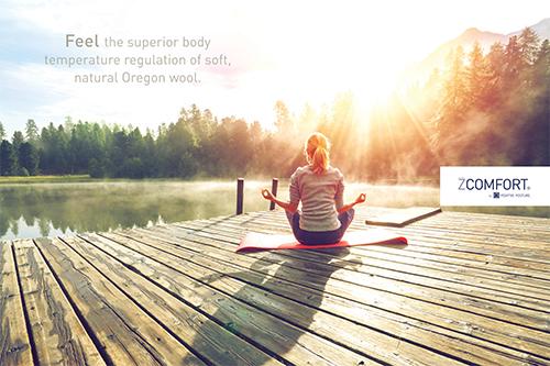 zComfort Wall Decor - meditation